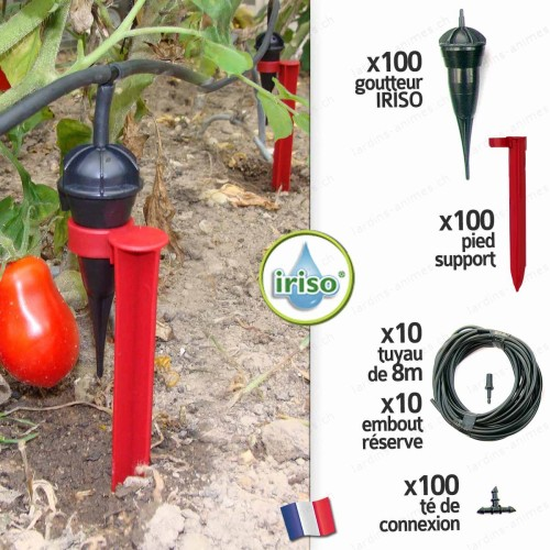Kit arrosage jardin IRISO x 100