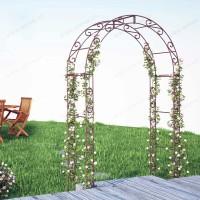 Arche de Jardin arrondi en acier plein