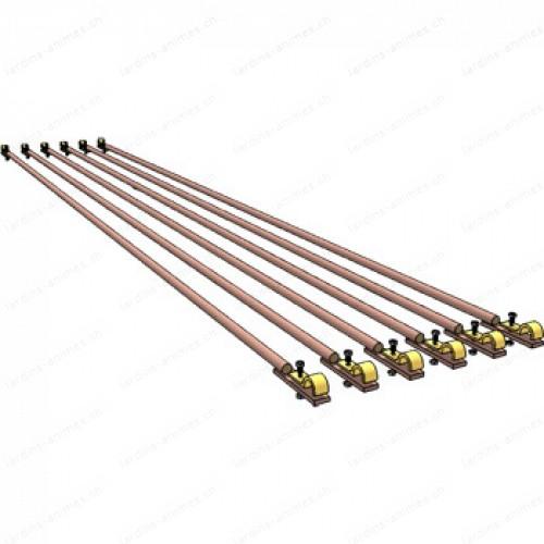 Option barre liaison 149 cm pour arche