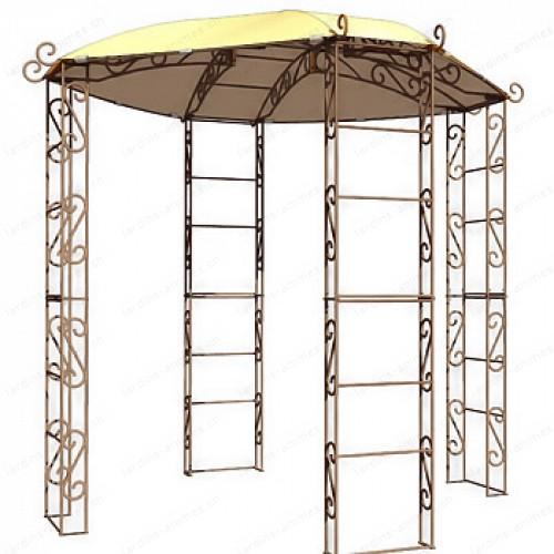 Toile pour kiosque de jardin tonnelle 4 pieds