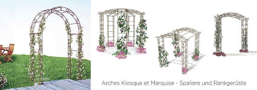 Arches Kiosque et Marquise