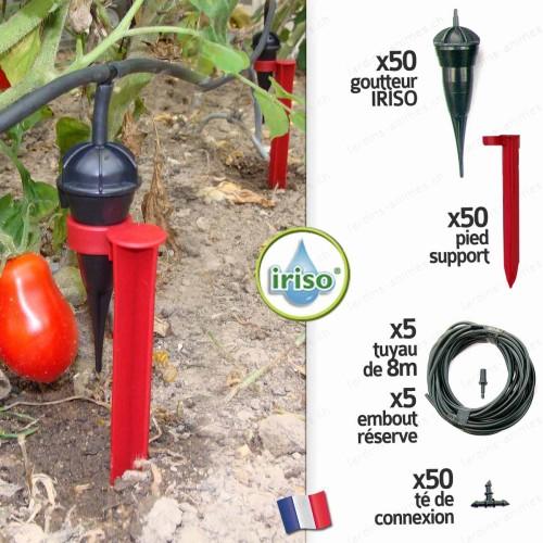 Kit arrosage goutteurs IRISO x50