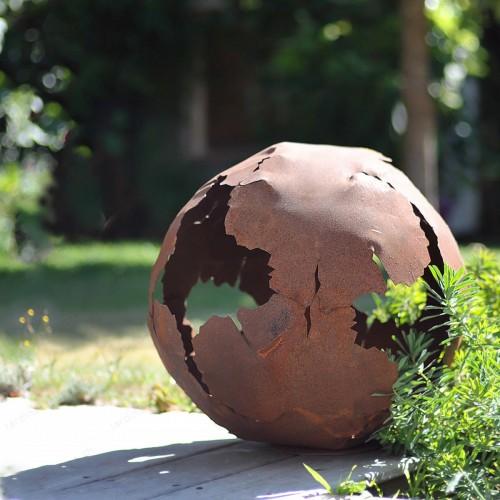 Boule en fonte 25 cm