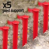 Pied support pour goutteur IRISO x5