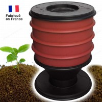 Lombricomposteur EcoWorms ROUGE