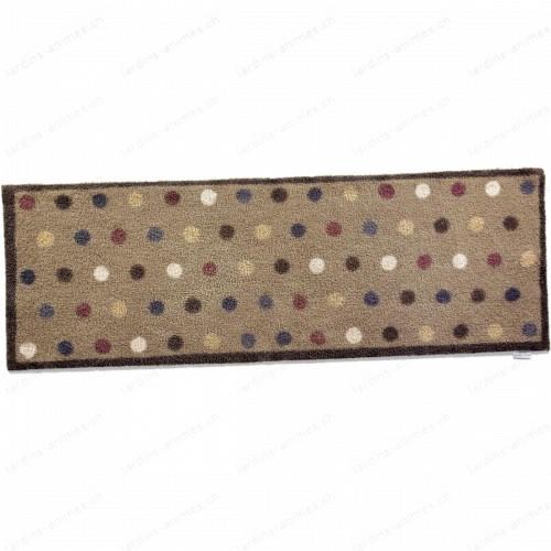 Paillasson long motif spot 10, 65x150 cm
