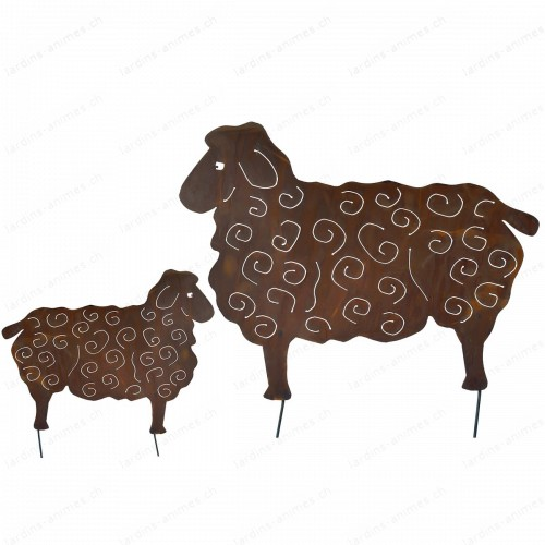 silhouette mouton 113 cm