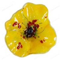 Fleur coquelicot JAUNE