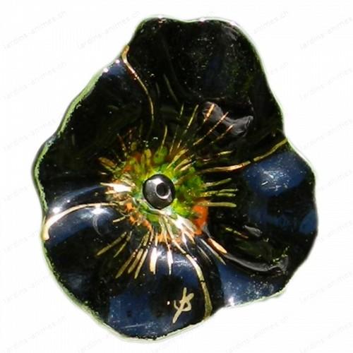 Fleur coquelicot NOIR