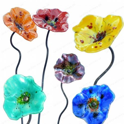 Fleur Coquelicot 3 modeles au choix